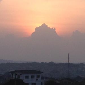 Abeokuta setting sun